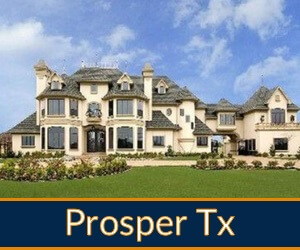 prosper homes for sale